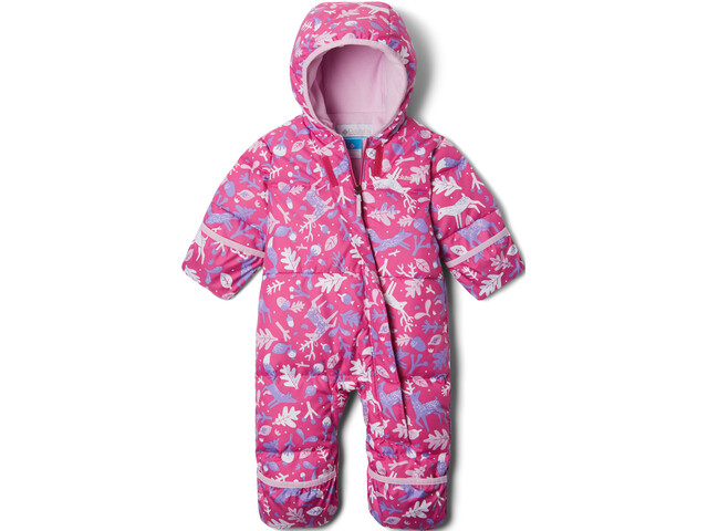 Columbia Snuggly Bunny Bunting Combinaison Nourissons, pink ice reindeer/pink clover